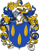 English or Welsh Coat of Arms for Leveson (Lilleshal, Shropshire)
