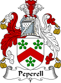 English Coat of Arms for Peperell