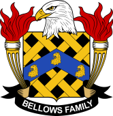 American Coat of Arms for Bellows