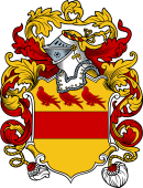 English or Welsh Coat of Arms for Lacy