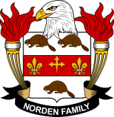 American Coat of Arms for Norden