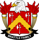 American Coat of Arms for Brattle