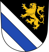 Swiss Coat of Arms for Kühne de Rheineck