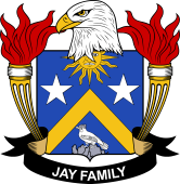 American Coat of Arms for Jay