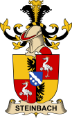 Republic of Austria Coat of Arms for Steinbach (Kranichstein)