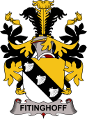 Swedish Coat of Arms for Fitinghoff