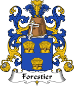 Coat of Arms from France for Forestier