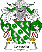 Portuguese Coat of Arms for Lordelo.