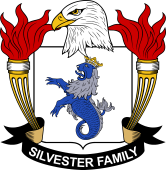 American Coat of Arms for Silvester