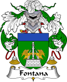 Portuguese Coat of Arms for Fontana