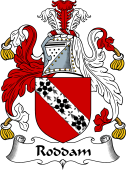 English Coat of Arms for Roddam