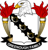 American Coat of Arms for Greenough