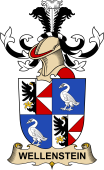 Republic of Austria Coat of Arms for Wellenstein