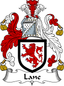 Irish Coat of Arms for Lane