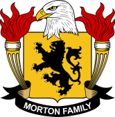 American Coat of Arms for Morton