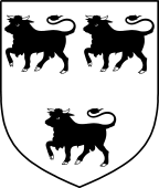 English Family Shield for Hamelyn or Hamelin
