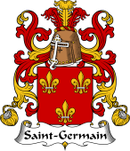 Coat of Arms from France for Saint-Germain