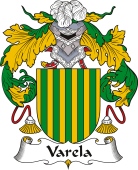 Spanish Coat of Arms for Varela