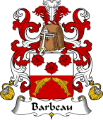 Coat of Arms from France for Barbeau
