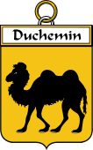 French Coat of Arms Badge for Duchemin