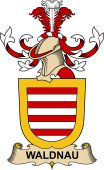 Republic of Austria Coat of Arms for Waldnau
