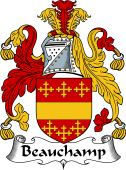 English Coat of Arms for Beauchamp