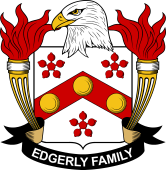 American Coat of Arms for Edgerly