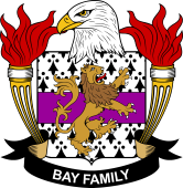 American Coat of Arms for Bay