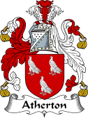 English Coat of Arms for Atherton