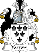 English Coat of Arms for Yarrow