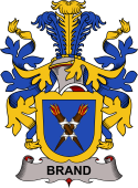 Swedish Coat of Arms for Brand