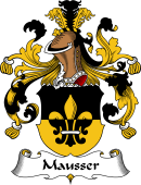 German Wappen Coat of Arms for Mausser