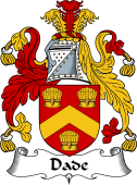 English Coat of Arms for Dade