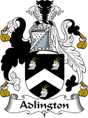 English Coat of Arms for Adlington