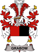 Danish Coat of Arms for Grabow