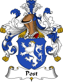 German Wappen Coat of Arms for Post