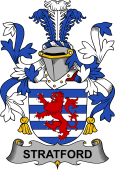 Irish Coat of Arms for Stratford