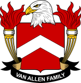 American Coat of Arms for Van Allen