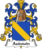 Coat of Arms from France for Audouin