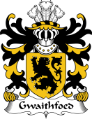 Welsh Coat of Arms for Gwaithfoed (of Ceredigion or Fawr)