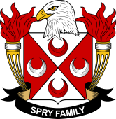 American Coat of Arms for Spry