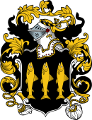 English or Welsh Coat of Arms for Ord (Hants)
