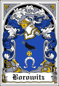 Polish Coat of Arms Bookplate for Borowitz