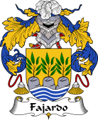 Spanish Coat of Arms for Fajardo