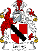 English Coat of Arms for Loring