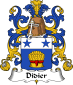 Coat of Arms from France for Didier
