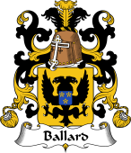 Coat of Arms from France for Ballard