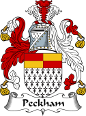 English Coat of Arms for Peckham