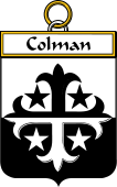 Irish Badge for Colman or McColman