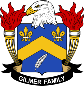 American Coat of Arms for Gilmer